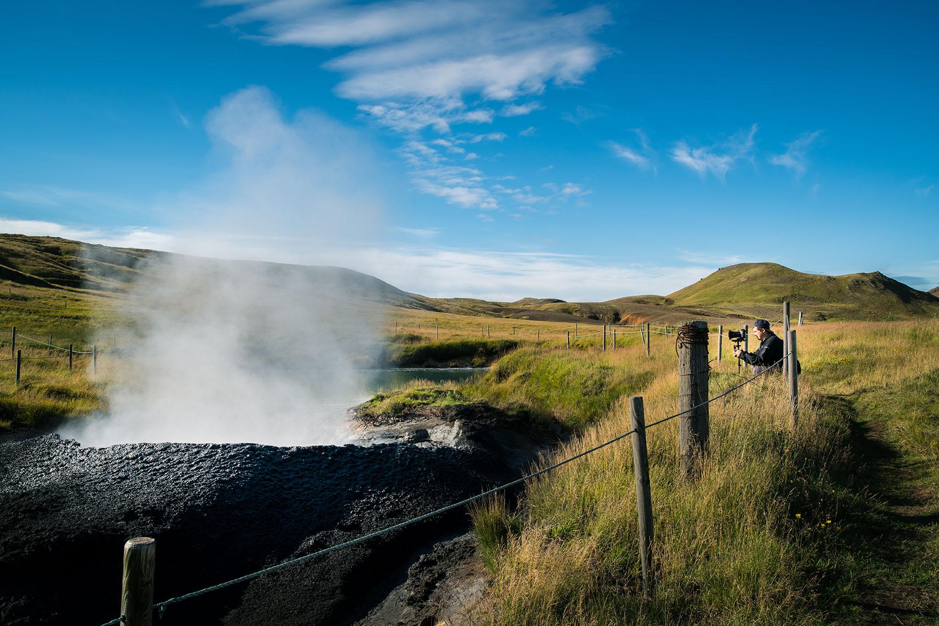 David Spettel, Davision Pictures, Iceland, Keflavik, Schlammloch